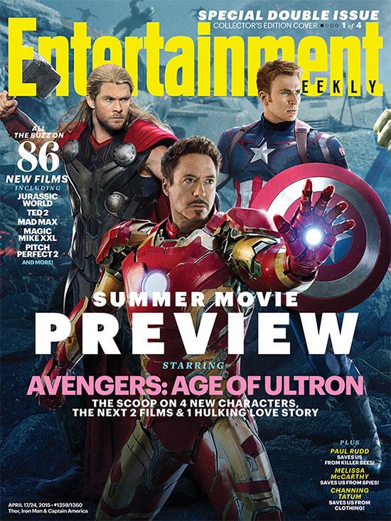 Portada para Thor, el Capi e Iron Man... más spoilers