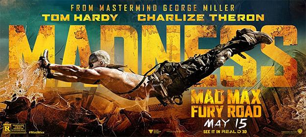 Acrobacias varias en Mad Max: Furia en la Carretera