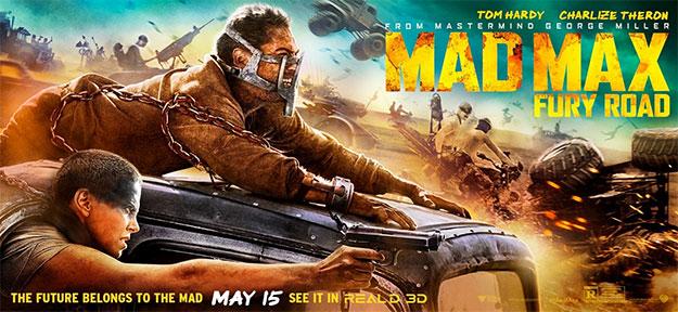 Y otro cartel más de Mad Max: Furia en la Carretera
