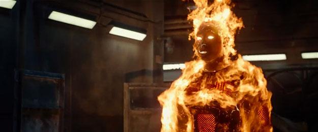 La Antorcha Humana en Fantastic Four