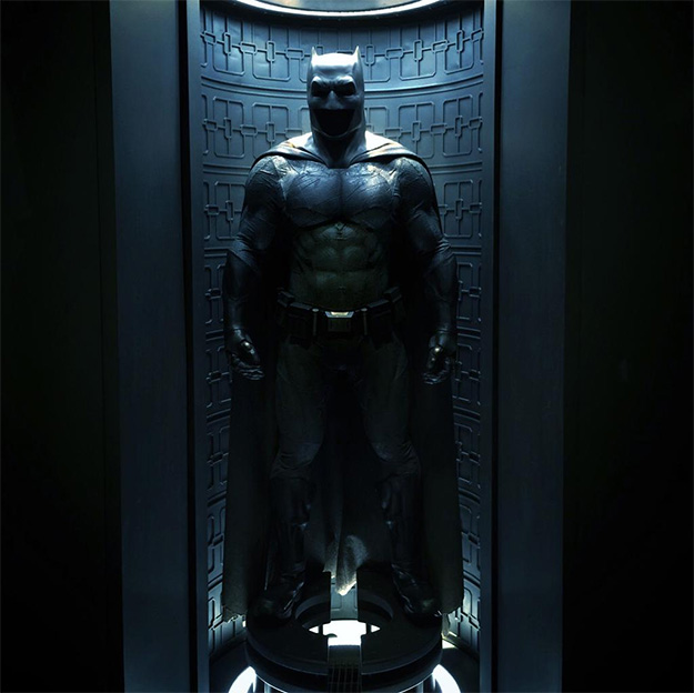 El traje de Batman en Batman v Superman: Dawn of Justice