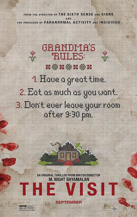 Uno de los carteles de The Visit... mola mucho