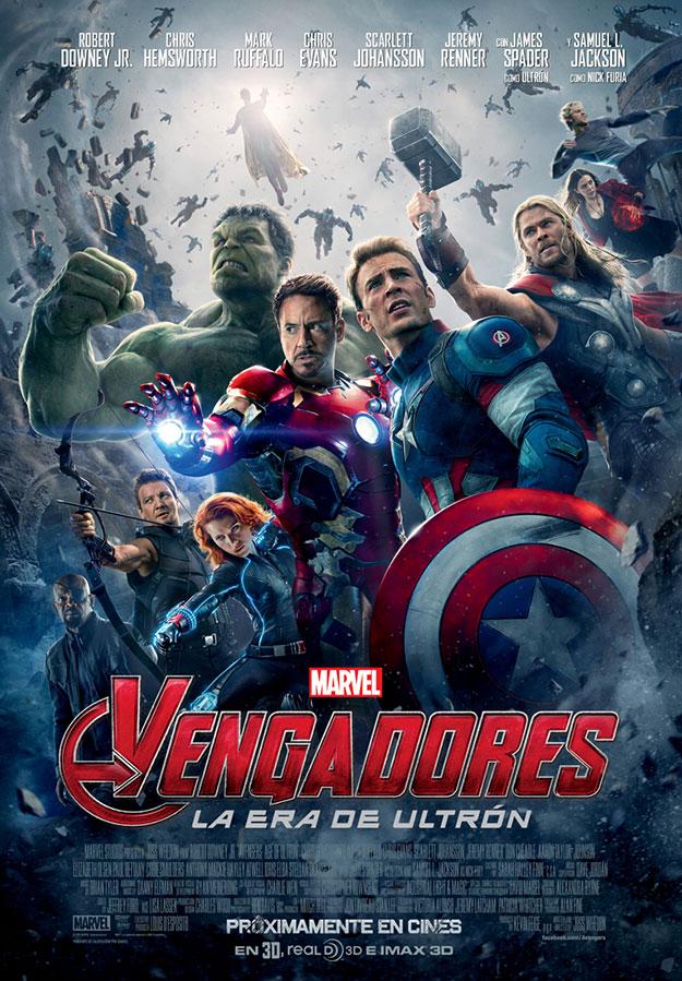 Cartel español de Vengadores: La Era de Ultrón