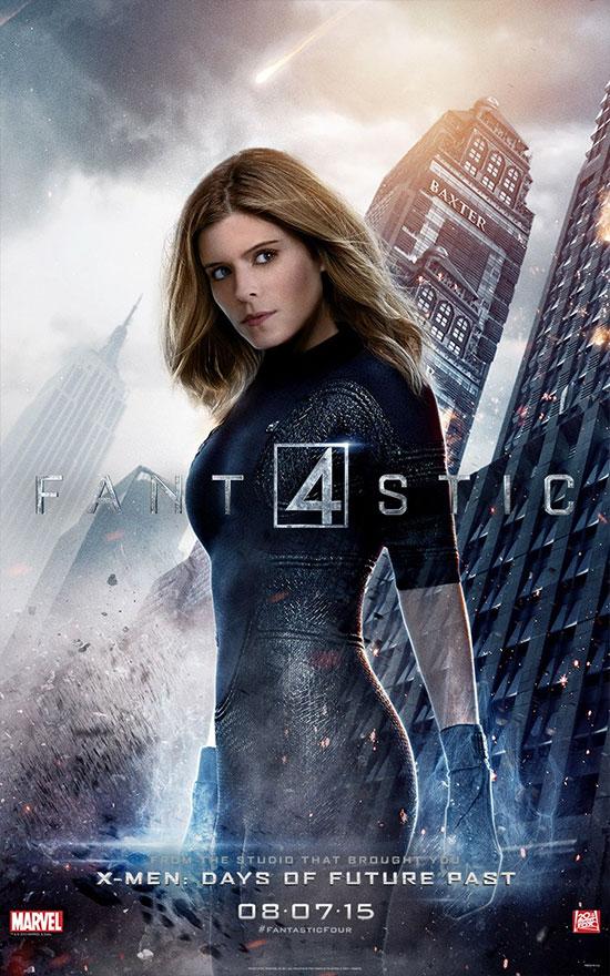 Kate Mara como Sue Storm / La Mujer Invisible