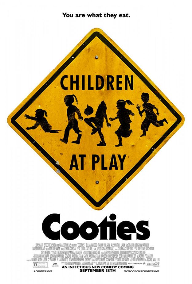 Un nuevo cartel de Cooties... el anterior me molaba más