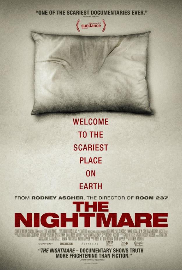"Cartel del documental ""The Nightmare"""