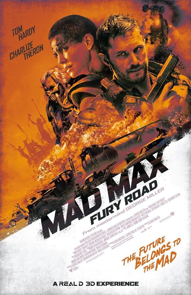 El cartel IMAX de Mad Max: Furia en la Carretera es canela fina
