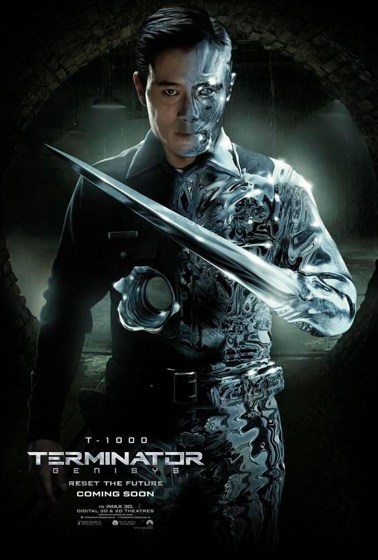 Byung-hun Lee como el T-1000