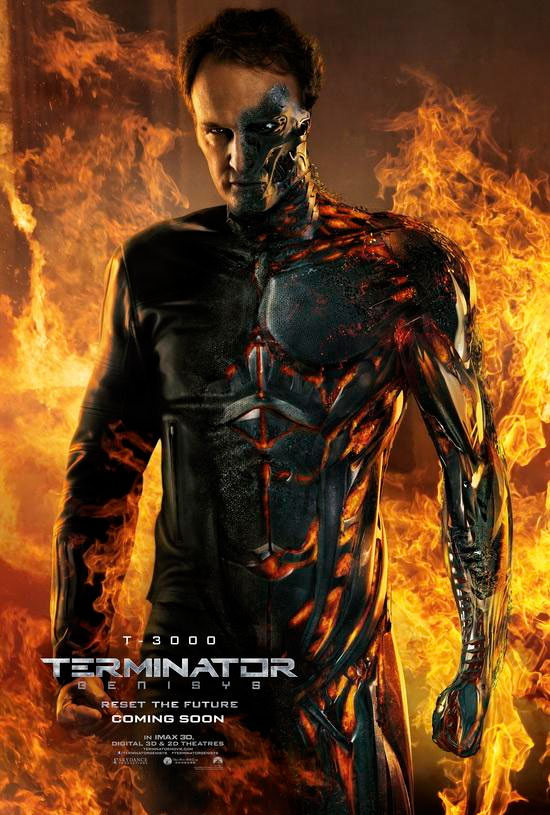 Jason Clarke como el T-3000