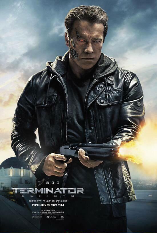 Arnold Schwarzenegger como el T-800