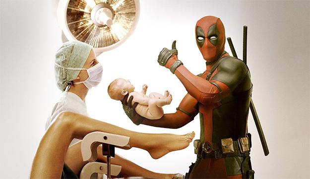 """Deadpool y una imagen graciosa para celebrar el """"Mother's Day"""""""