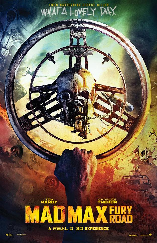 Uno de los muchos apoteósicos carteles de Mad Max: Furia en la Carretera