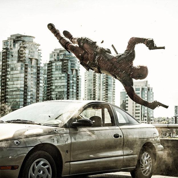 Una nueva imagen imposible de Ryan Reynolds como Deadpool