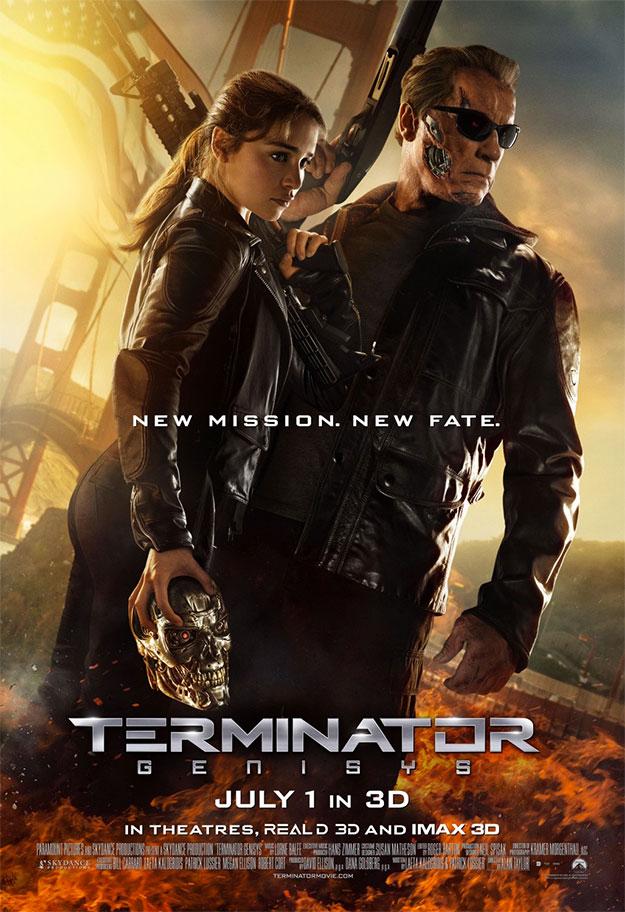 Otro cartel más de Terminator Génesis... que miedo tengo