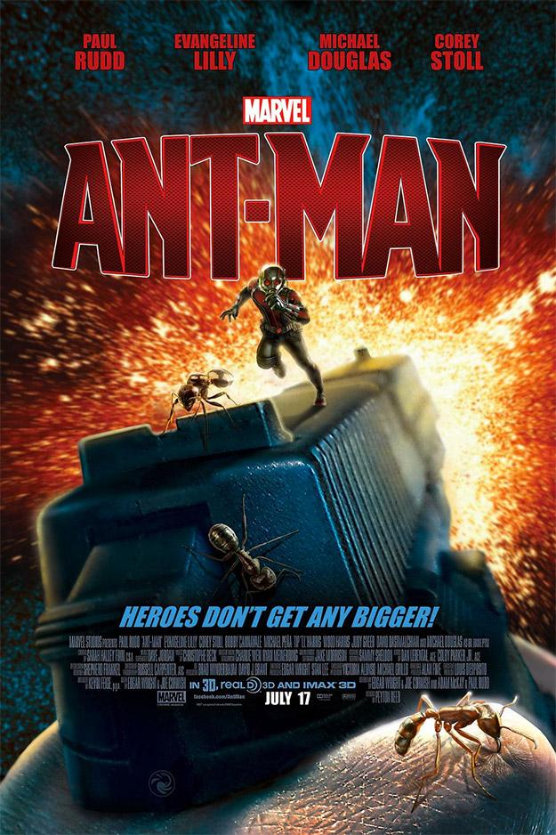 Cartel fan made de Ant-Man obra de @RobCsiki... flipante