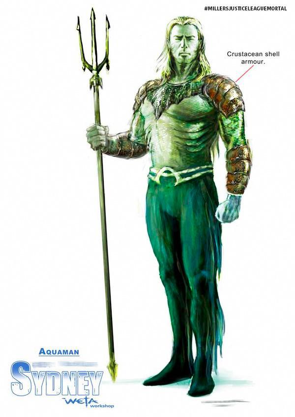 Aspecto, prometedor, de Aquaman
