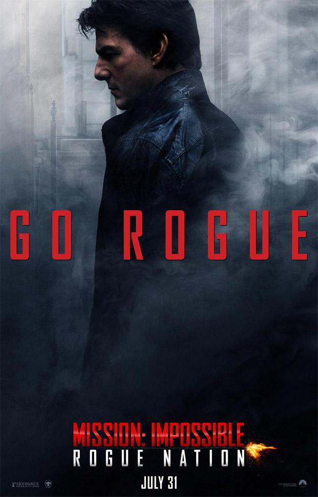 Tom Cruise en el nuevo cartel de Misión Imposible: Nación Secreta