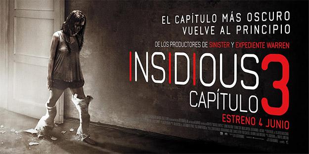Uno de los carteles de Insidious Capítulo 3