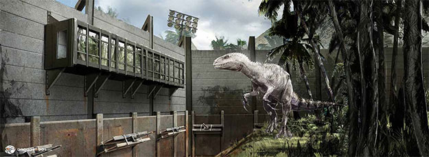Concept art de Jurassic World