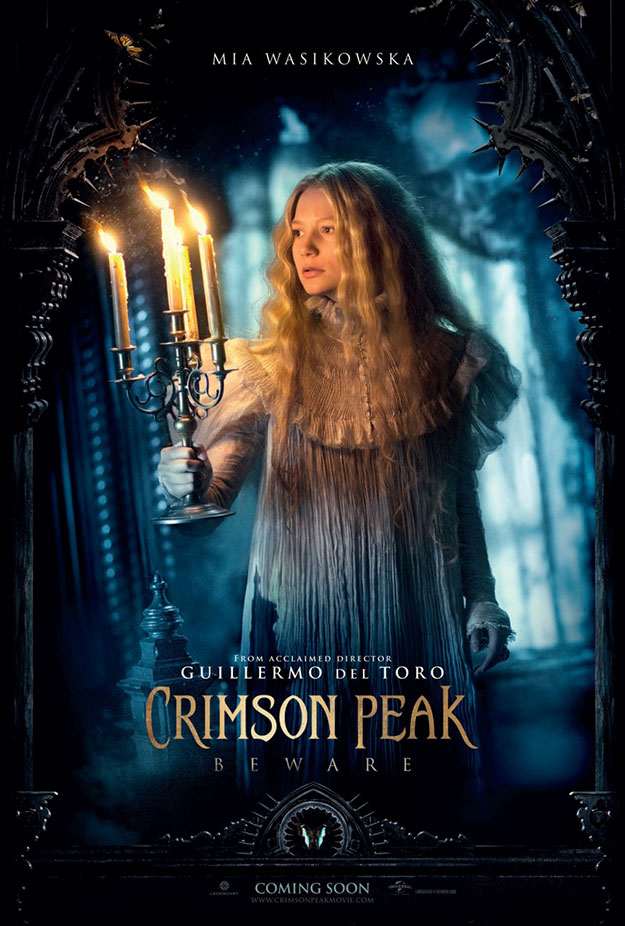 Cartel de Crimson Peak