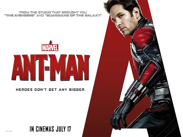 Un nuevo cartel de Ant-Man para el mercado británico