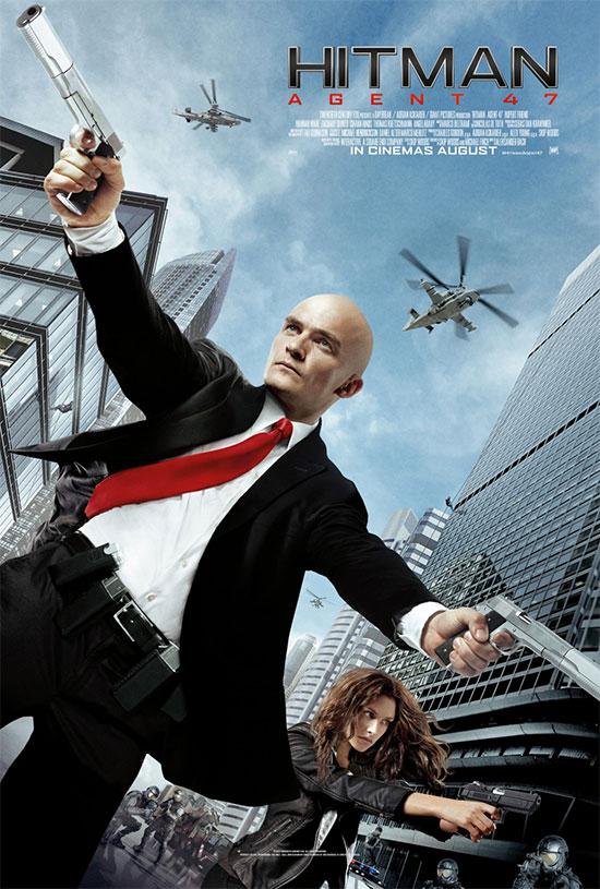 También tenemos cartel nuevo de Hitman: Agent 47... pues bueno