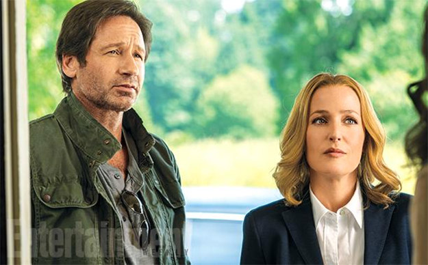 Saludemos a Mulder y Scully