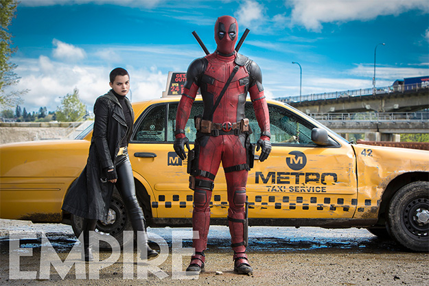Deadpool y Negasonic Teenage Warhead (Brianna Hildebrand)