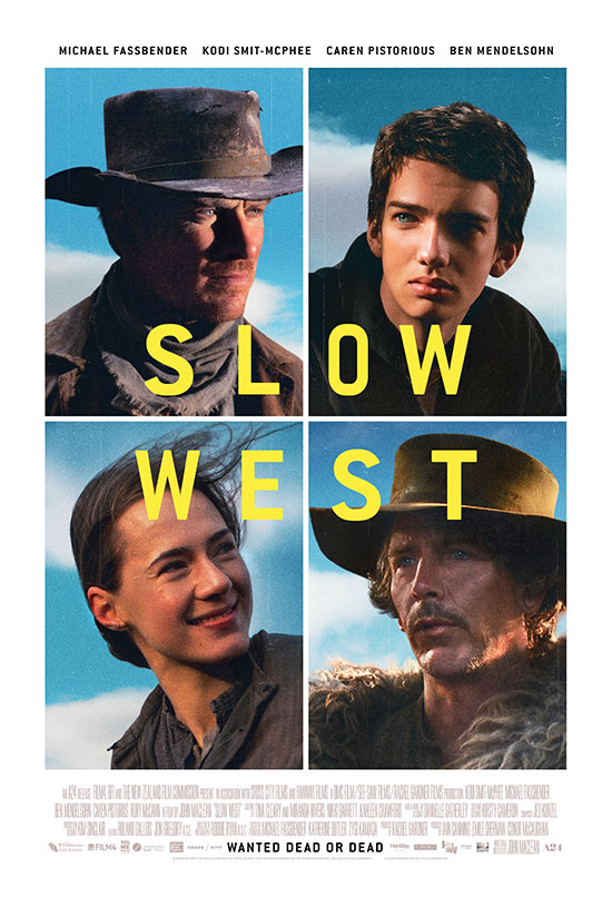 Cartel de Slow West... ganazas