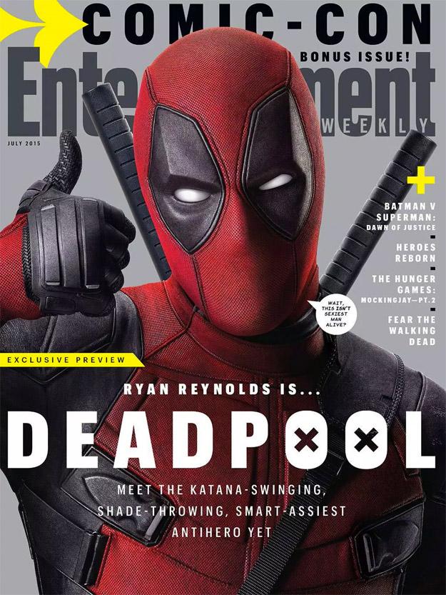 Deadpool protagonista del último número de EW