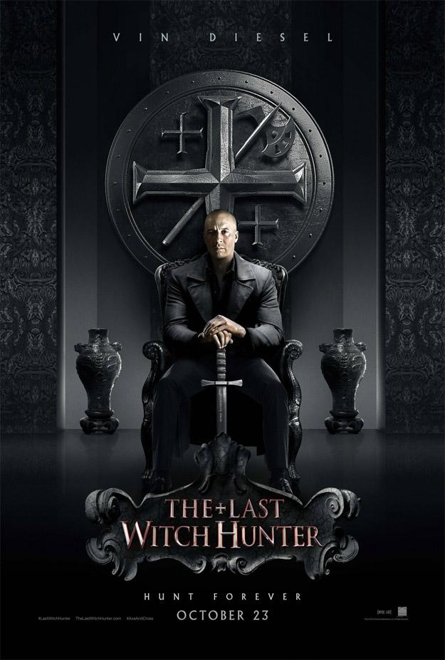 Vin Diesel, ahora, en The Last Witch Hunter