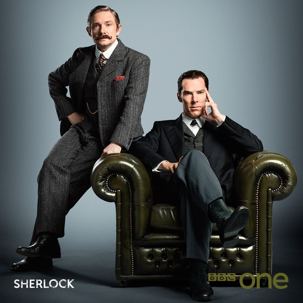 Watson y Sherlock en modo victoriano