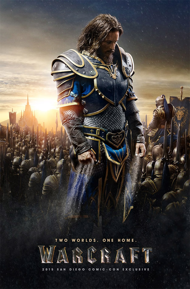 Los rostros de Warcraft! Primer gran póster para Lothar!