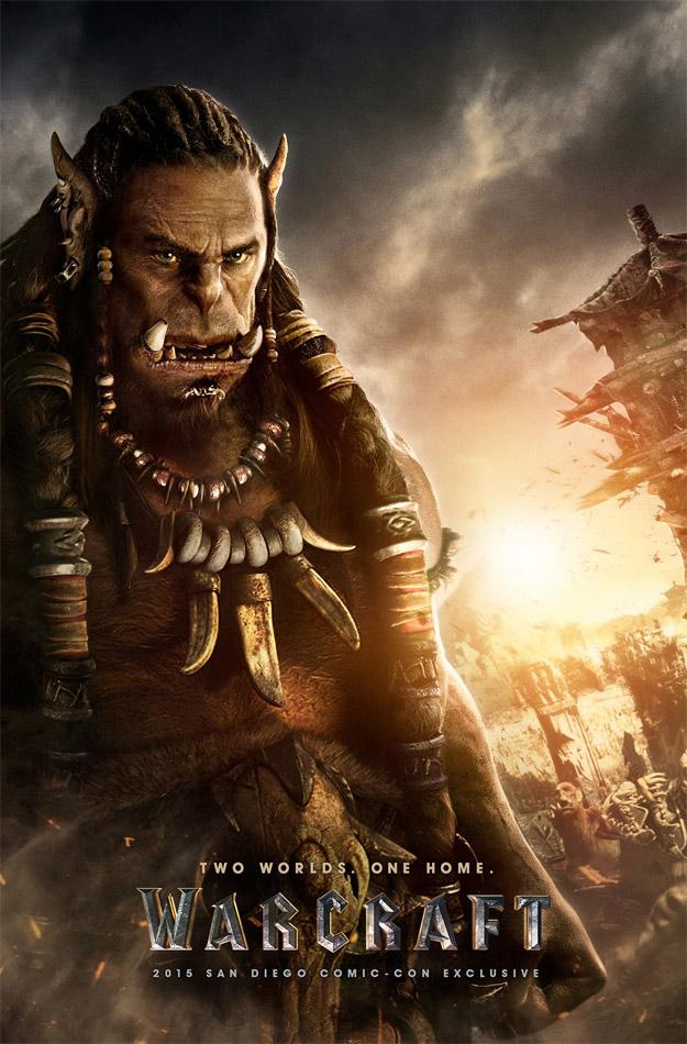 Los rostros de Warcraft! Segundo gran póster para Durotan!