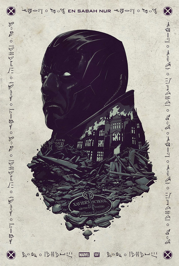 Primer cartel de X-Men: Apocalypse