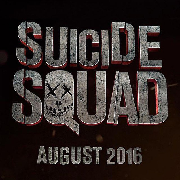 El logo de Suicide Squad