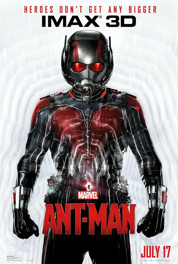 El cartel IMAX de Ant-Man es bastante molón