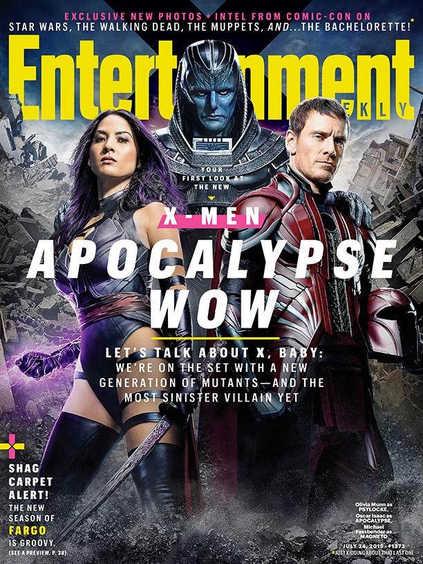 Portada dedicada a X-Men: Apocalypse