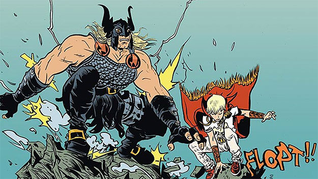 "¡""Battling Boy"" de Paul Pope... un must read en toda regla!"
