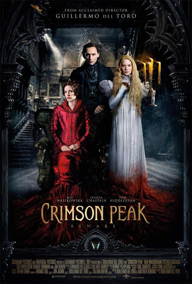 Nuevo cartel para el mercado internacional de La Cumbre Escarlata de Guillermo del Toro