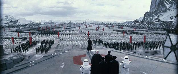 Tropas, tropas y más tropas en Star Wars: El Despertar de la Fuerza