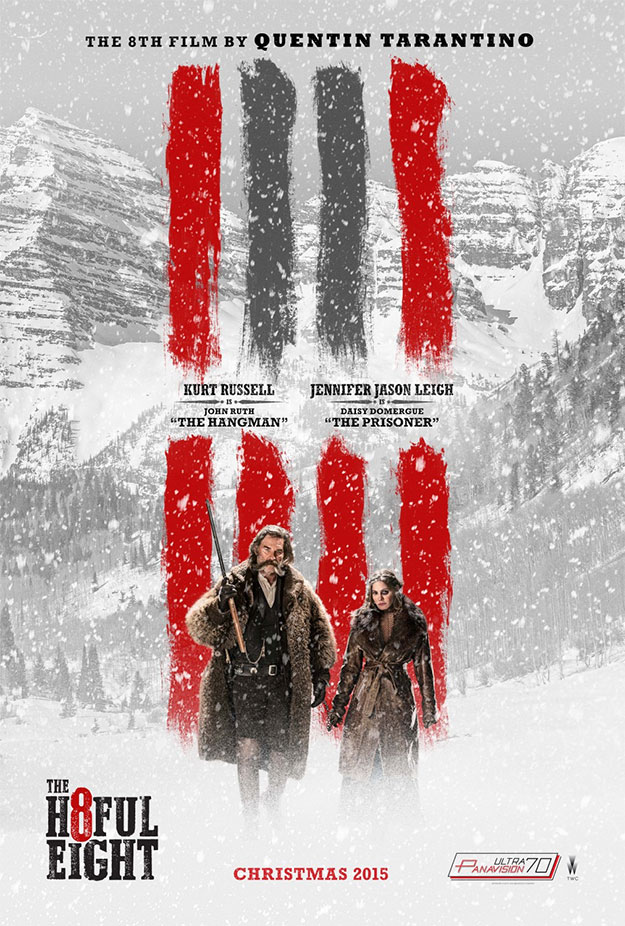 El nuevo cartel de The Hateful Eight de Quentin Tarantino... y amén