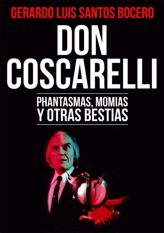 """Portada de """"Don Coscarelli: Phantasmas, momias y otras bestias"""" de Gerardo Santos Bocero"""