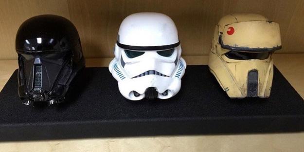Al rico casco de Star Wars: Rogue One
