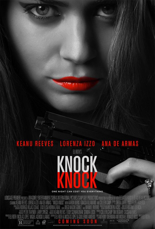 Otro de los nuevos carteles de Knock Knock de Eli Roth