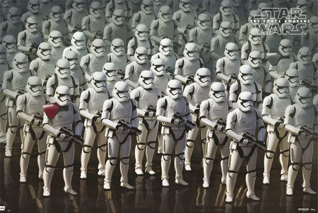 Algo así como un concept art de Star Wars: El Despertar de la Fuerza