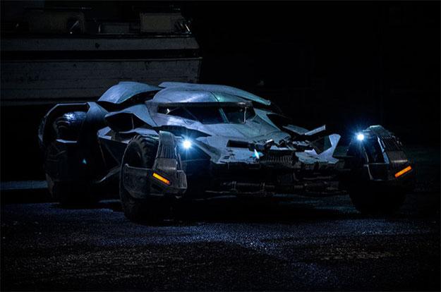 Un nuevo vistazo al Batmovil de Batman v Superman: El Amanecer de la Justicia