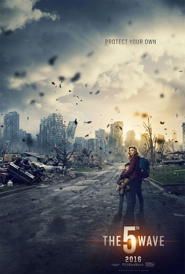 Primer cartel de The 5th Wave... apocalíptico