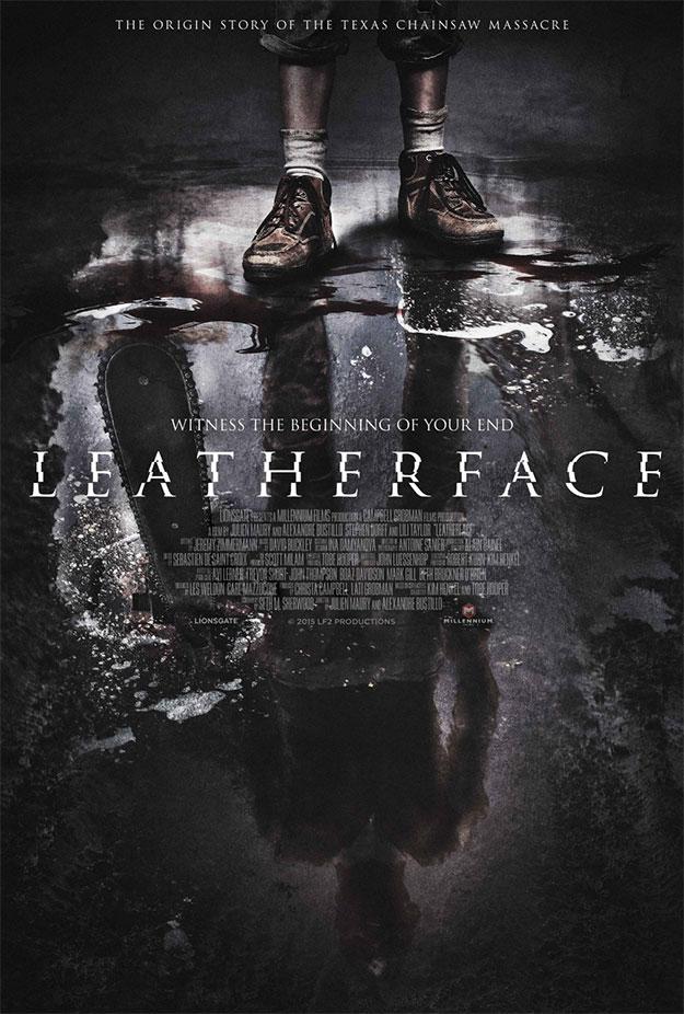 Primer cartel de Leatherface... así cuaja la mente de un serial killer peliculero