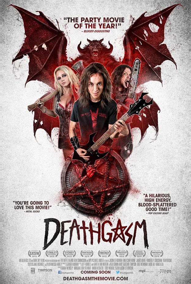 Un nuevo cartel de Deathgasm... pues eso